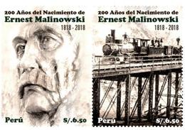 Peru 2019 200 Years Of Ernest Malinowski Birth Trains. - Peru