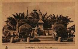 Rio-Salado  - Hotel De Ville Et Monument - Algérie