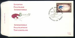 E29 - België - 1972 - FDC - OBP 1621 - Belgica 72 - Bruxelles / Brussel - FDC