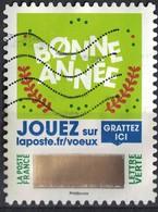 France 2018 Oblitéré Used Timbre à Gratter N° 5 Bonne Année Y&T 1645 - Frankreich