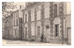 (22973-86) Saint Genest D'Ambière - Hôtel Des Postes - Autres Communes