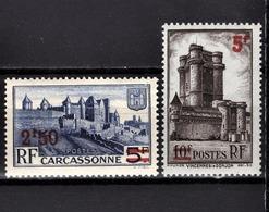 FRANCE 1941 -  Y.T. N° 490 / 491  - NEUFS** - France