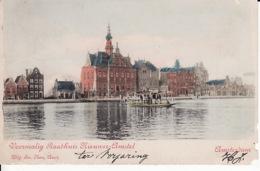 2769221Amsterdam, Voormalig Raadhuis Nieuwer Amstel. (zie Rechtsonder En De Andere Hoeken) - Amsterdam