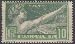 FRANCE Francia Frankreich - 1924 - Yvert 183 Nuovo MH, 10 Cent, Giochi Olimpici Di Parigi. - France