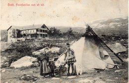 NORVEGE - GROTTI FINNEFAMILIEN MED SIT TELT - Norvège