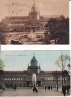 2769238Amsterdam, Frederiksplein Met Paleis Voor Volksvlijt Reclame Lipton Thee 1910 – Paleis Voor Volksvlijt 1920 (2 - Amsterdam