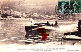 "Les Sports - Courses De Canots Automobiles De MONACO - La""Mercedes II En Course - Postcards"