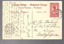 CONGO - ENTIER STIBBE 43 - VUE 16 - BOMA 1913   TTB   - PL8 - Ganzsachen