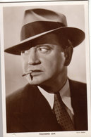 Richard Dix.   Actor. Picturegoer Series. RPPC. (Card Number 1343). - Acteurs