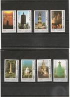 CAMBODGE Anciennes Pagodes De Pékin  Année  1999 N° Y/T : 1647/54** - Cambodge