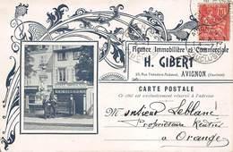 CPA H.GIBERT - Agence Immobilière Et Commerciale - Avignon