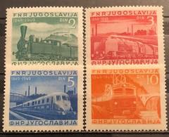 Yugoslavia, 1949, Mi: 583/86 (MH) - 1945-1992 Repubblica Socialista Federale Di Jugoslavia
