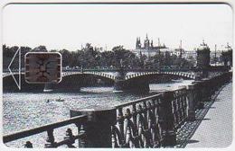 Czechoslovakia; Privat Card B2. Bridge On The River Vltava; CN 42301 - Tchécoslovaquie