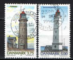 DANIMARCA - 1996 - FARI - LIGHTHOUSE - USATI - Danimarca