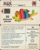 Czechoslovakia; Complimentary Card A5. Colored Fish, CN C22036454 - Tschechoslowakei
