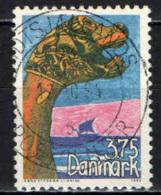 DANIMARCA - 1993 - CONCORSO DI DISEGNO PER STUDENTI PER LA REALIZZAZIONE DI UN FRANCOBOLLO - USATO - Usati
