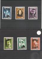 CAMBODGE Cinéma: Acteurs Et Réalisateurs  Année  2001 N° Y/T : 1813/18** - Cambodge