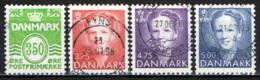 DANIMARCA - 1992 - CIFRA ED EFFIGIE DELLA REGINA MARGARETA II - USATI - Danimarca