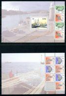 Ireland, 1991, Fish, Fishery, Boats, Ships, MNH Booklet Panes, Michel 772 - Ireland