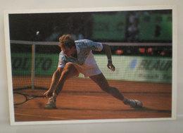 Tennis Stefan Edberg Monte Carlo 1990  Cartolina - Tennis