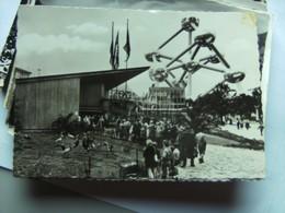België Belgique Brussel Bruxelles Wereldtentoonstelling 1958 Paviljoen Zoo Antwerpen - Wereldtentoonstellingen