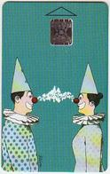 Czechoslovakia; Privat Card B3. Sliva - Comic; CN 42302 - Tchécoslovaquie