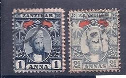180030999  ZANZIBAR  YVERT  Nº   28/30 - Zanzibar (...-1963)