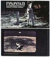 90468) Mauritius 1979 Spazio/Apollo 11// Atterraggio Sulla Luna Astronauti/razzi-LIBRETTO-MNH** - Mauritius (1968-...)