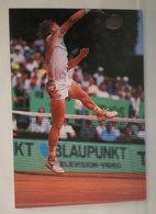 Tennis Boris Becker Monte Carlo 1990  Cartolina - Tennis