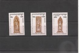 CAMBODGE Culture Kmère Année  2000 N° Y/T : 1731/33** - Cambodge