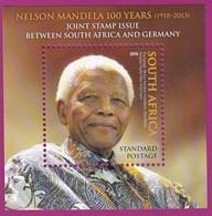 South Africa RSA - 2018 - Nelson Mandela Joint Issue Germany MNH - Afrique Du Sud (1961-...)