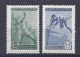 180031018  YUGOSLAVIA  YVERT  Nº   502/4  */MH - Usados