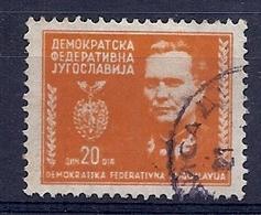 180031019  YUGOSLAVIA  YVERT  Nº   415 - Usados