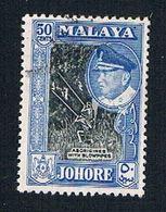 Malaya Johore 165 Used Sultan Ismali (BP22621) - Johore