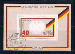 Germany 1145 Used Sounvenir Sheet (GI0188P27)+ - [7] Federal Republic
