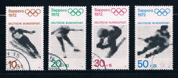 Germany B472-75 Used Set Olympics 1972 (GI0281P65)+ - [7] Federal Republic