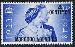 Morocco Agencies 93 MNH Surcharged 1948 CV 1.10 (M0302)+ - Morocco Agencies / Tangier (...-1958)