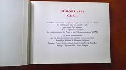 Europa 1961 - Album Con Giro Completo Nuovo E Usato                  (g5436) - Francobolli