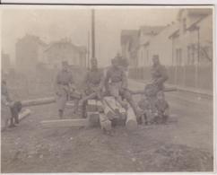 SERBIA,  KINGDOM OF YUGOSLAVIA   --  SERBIAN ARMY IN BOSNIEN  ~   NA KOVACICIMA,  SARAJEVO  ~ 1930 ~      7cm X 5,4 Cm - Militaria