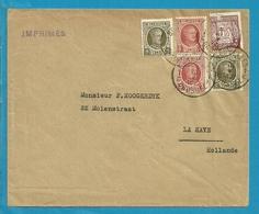 191+192+241 (Tuberculose) Op IMPRIME (drukwerk) Stempel BRUXELLES - Belgium