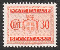 Italy - Scott #J45 MH - Postage Due - 5. 1944-46 Lieutenance & Umberto II