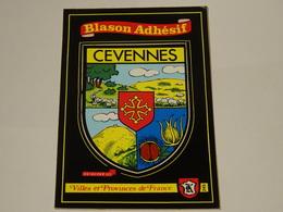 Blason écusson Adhésif Autocollant Cévennes 2 - Obj. 'Souvenir De'