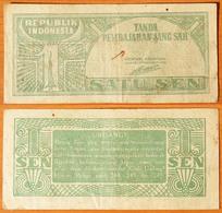 Indonesia 1 Sen 1943 - Indonésie