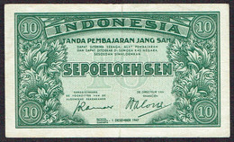 Indonesia 10 Sen 1947 - Indonésie