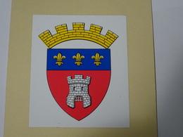 Blason écusson Adhésif Autocollant Clermont (Oise) - Obj. 'Souvenir De'