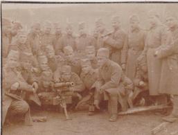 SERBIA,  KINGDOM OF YUGOSLAVIA   --  ARMY IN BOSNIEN  ~   CANNON   ,, PUTEAUX ,, Mod. 16  ~ YEAR 1930 ~    7,8 Cm X 6 Cm - Militaria