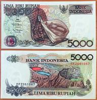 Indonesia 5000 Rupiah 1992 (1992) UNC Р-130a - Indonésie