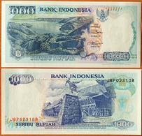 Indonesia 1000 Rupiah 1992 (1992) UNC Р-129a - Indonésie