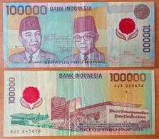 Indonesia 100000 Rupiah 1999 - Indonésie