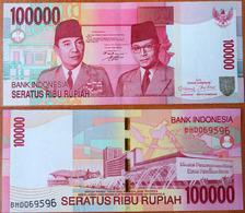 Indonesia 100000 Rupiah 2008 AUNC/UNC - Indonésie